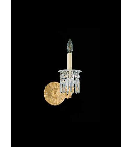 Schonbek Dorchester 1 Light Wall Sconce in Golden Birch and Handcut Crystal 5017-35 photo