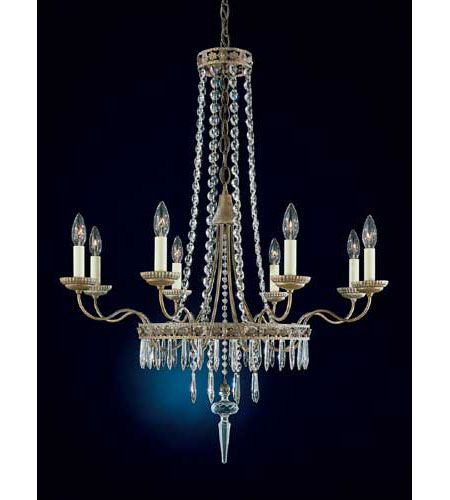 Schonbek early american 8 light chandelier in parchment bronze and schonbek early american 8 light chandelier in parchment bronze and legacy crystal 5157 74 mozeypictures Images