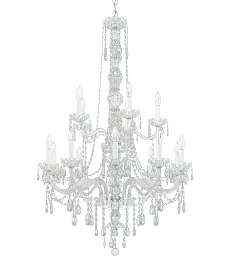 Schonbek 1308-40H Arlington 15 Light 32 inch Silver Chandelier Ceiling Light in Polished Silver, Clear Heritage  photo