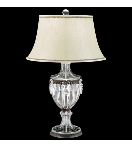 Schonbek BAGATELLE LAMP Heirloom Bronze LAMP with HANDCUT Crystal CLEAR Color 10091-76 photo