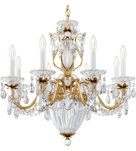Schonbek 1238N-22A Bagatelle 11 Light 27 inch Heirloom Gold Pendant Ceiling Light in Clear Spectra photo