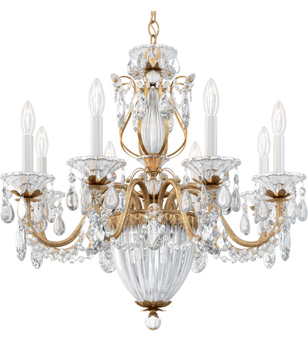 Schonbek 1238N-40H Bagatelle 11 Light 27 inch Silver Pendant Ceiling Light in Polished Silver, Clear Heritage photo