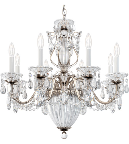 Schonbek 1238N-48H Bagatelle 11 Light 27 inch Antique Silver Pendant Ceiling Light in Clear Heritage photo