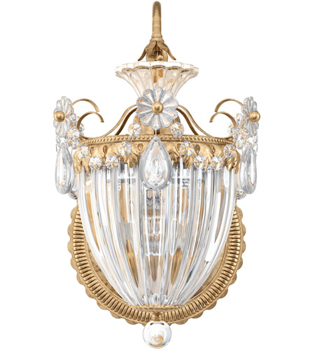 Schonbek 1240-26 Bagatelle 1 Light 11 inch French Gold Lantern Wall Sconce Wall Light in Clear Heritage photo