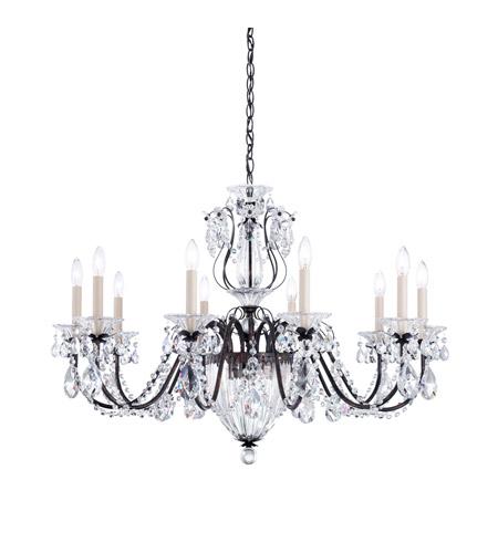 Schonbek 1260n 76a Bagatelle 10 Light 35 Inch Heirloom Bronze Chandelier Ceiling In Spectra