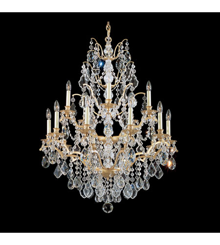 Elk Lighting Bordeaux: Schonbek Bordeaux 15 Light Chandelier In French Gold And