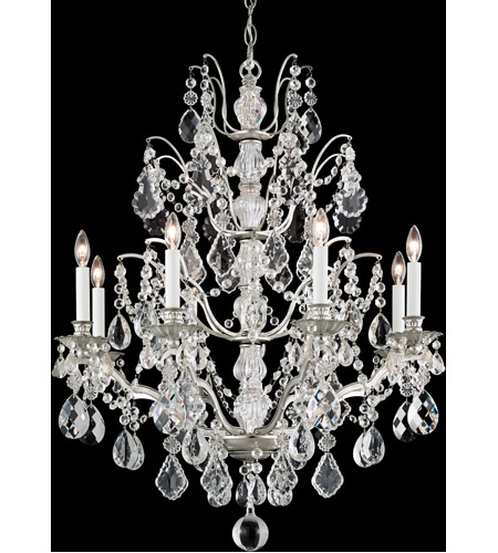 Schonbek 5771-22L Bordeaux 8 Light 28 inch Heirloom Gold Chandelier Ceiling Light in Clear Legacy photo