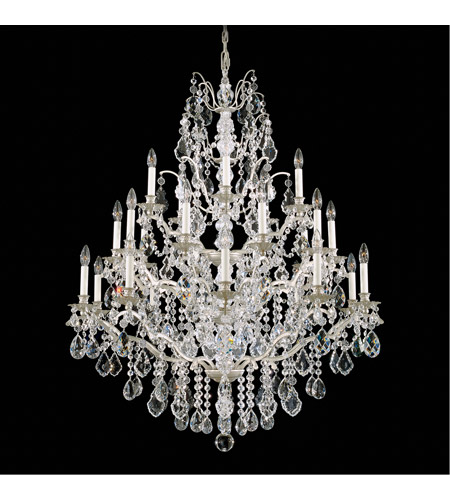 Schonbek 5775-48L Bordeaux 25 Light 40 inch Antique Silver Chandelier Ceiling Light in Clear Legacy photo