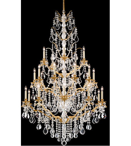 Schonbek 5782-73L Bordeaux 25 Light 40 inch Textured Bronze Chandelier Ceiling Light in Clear Legacy  photo