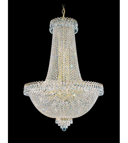 Schonbek 2628-20 Camelot 31 Light 28 inch Special Gold Chandelier Ceiling Light in Polished Gold photo