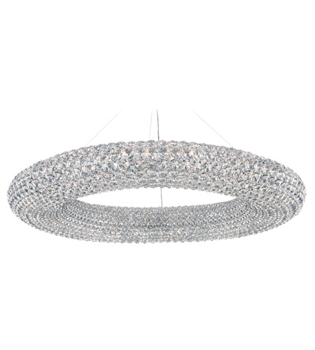 Schonbek CA3939A Cassini 28 Light 39 inch Stainless Steel Pendant Ceiling Light in Clear Spectra, Geometrix,Canopy Sold Separately photo