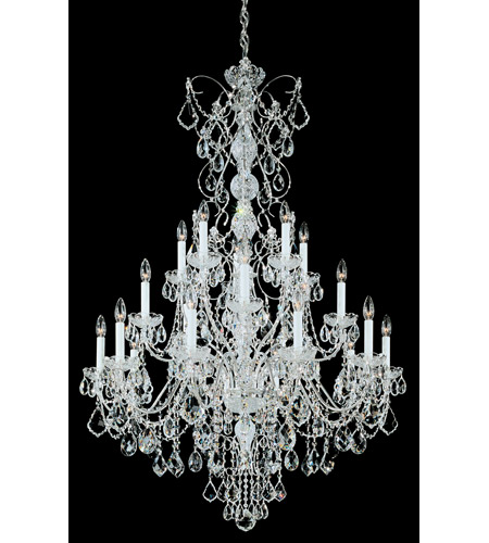 Schonbek 1716-40 Century 20 Light 37 inch Silver Chandelier Ceiling Light photo
