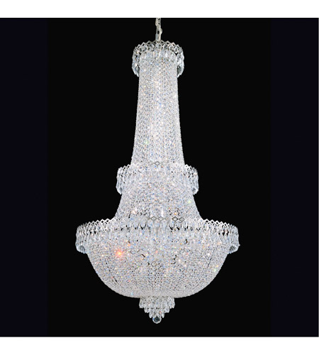 Schonbek 2638-40 Camelot 41 Light 28 inch Silver Chandelier Ceiling Light in Polished Silver photo