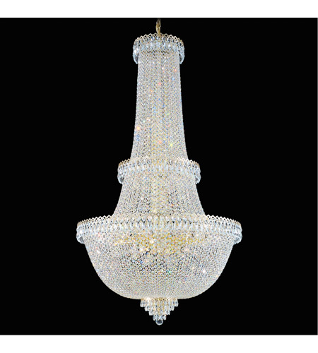 Schonbek 2642-40 Camelot 57 Light 34 inch Silver Chandelier Ceiling Light in Polished Silver photo