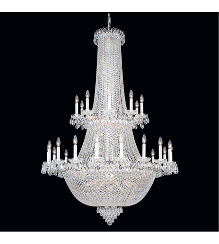 Schonbek 2643-40 Camelot 84 Light 42 inch Silver Chandelier Ceiling Light in Polished Silver photo