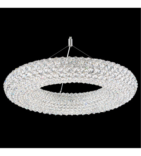 Schonbek CA2525A Cassini 15 Light 25 inch Stainless Steel Pendant Ceiling Light in Clear Spectra, Geometrix,Canopy Sold Separately photo