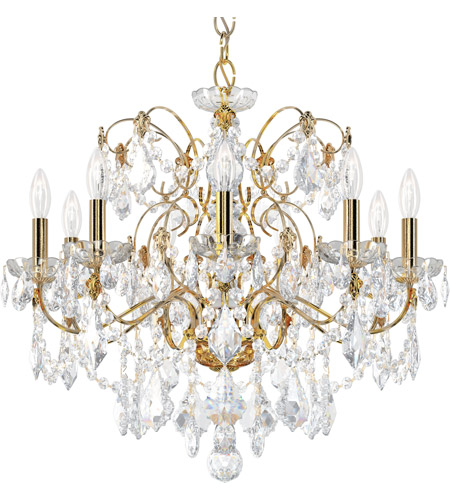 Schonbek 1709-211 Century 9 Light 26 inch Aurelia Chandelier Ceiling Light photo
