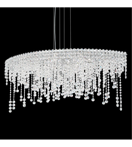 Schonbek CH4811N-401H Chantant 8 Light 22 inch Stainless Steel Pendant Ceiling Light in Clear Heritage, Strand photo