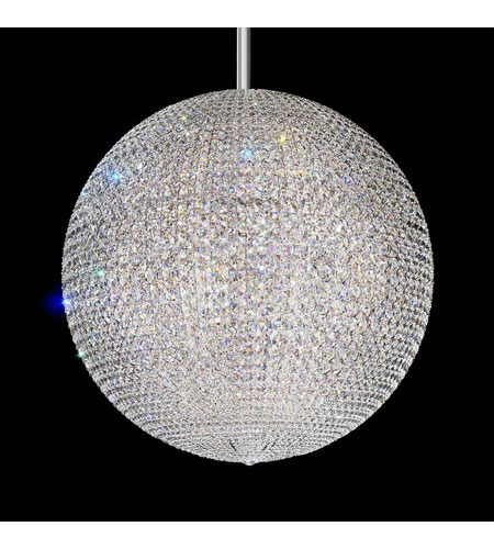 Schonbek Da Vinci 72 Light Pendant in Stainless Steel and Clear Spectra Crystal Trim DV3636A photo