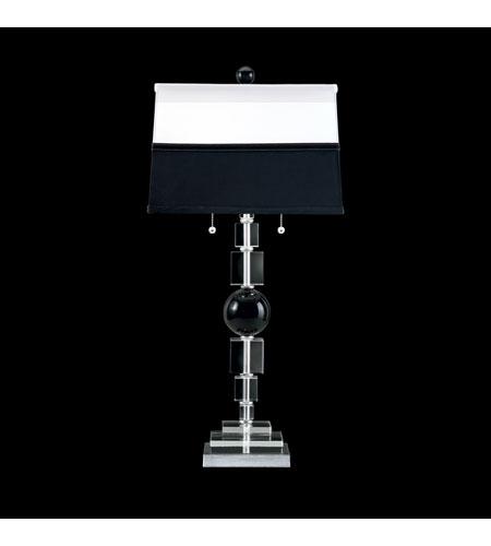 Schonbek Deco Lamps 2 Light Table Lamp in Silverleaf 10455N-39 photo
