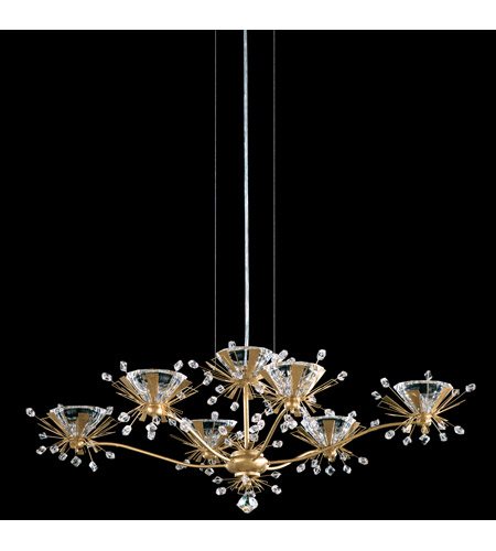Schonbek Estella 6 Light Chandelier in Heirloom Gold and Crystal Swarovski Elements Trim ES3816N-22S photo