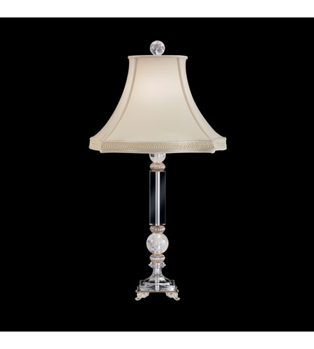 Schonbek Celeste Lamps 1 Light Table Lamp in Antique Silver and Clear Heritage Handcut Trim 10508N-48 photo