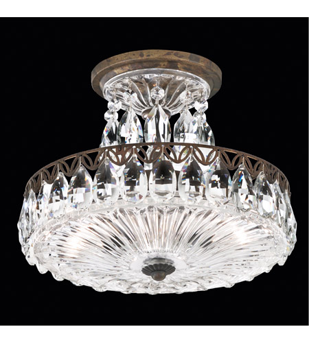 Schonbek FL7787N-76H Fontana Luce 2 Light 11 inch Heirloom Bronze Semi Flush Mount Ceiling Light photo