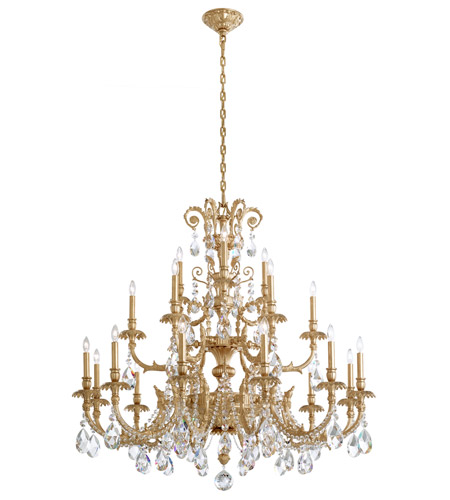 Schonbek Heirloom Gold Genzano Chandeliers