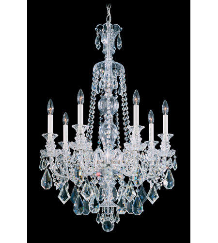 Schonbek 5706CL Hamilton 7 Light 25 inch Silver Chandelier Ceiling Light in Clear Heritage photo
