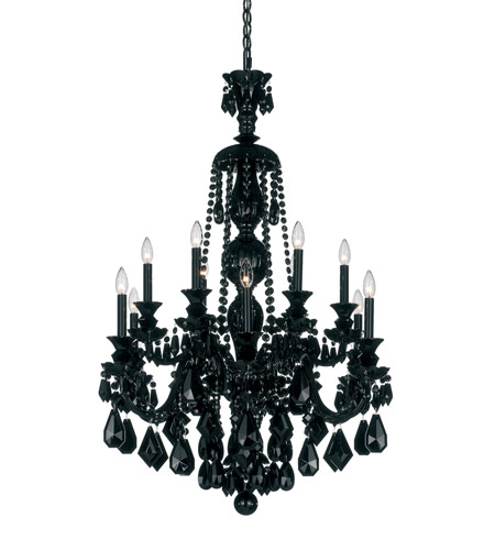 Schonbek 5708bk hamilton 12 light 30 inch jet black chandelier schonbek 5708bk hamilton 12 light 30 inch jet black chandelier ceiling light mozeypictures Images