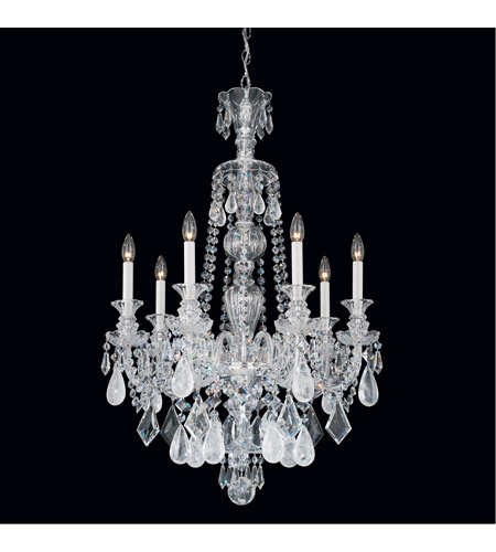 Hamilton Rock Crystal Chandeliers