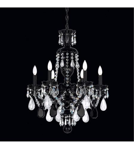 Schonbek 5535bk hamilton 6 light 22 inch jet black chandelier schonbek 5535bk hamilton 6 light 22 inch jet black chandelier ceiling light photo aloadofball Choice Image