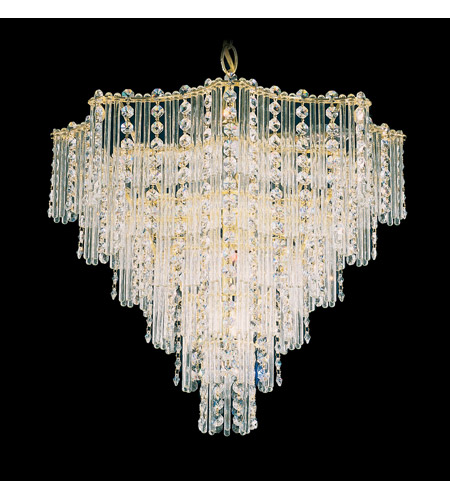 Schonbek 2650-20 Jubilee 9 Light 18 inch Gold Chandelier Ceiling Light in Polished Gold photo