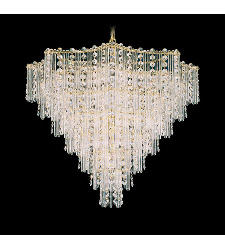 Schonbek 2652-20 Jubilee 13 Light 21 inch Gold Chandelier Ceiling Light in Polished Gold photo