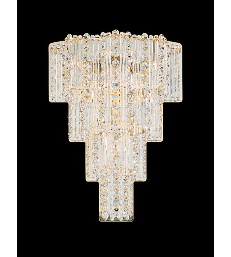 Schonbek Jubilee 4 Light Wall Sconce in Gold and Clear Gemcut Trim 2673-20 photo