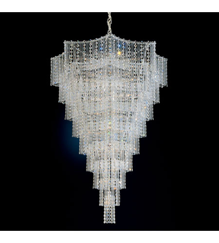 Schonbek 2657-40 Jubilee 33 Light 28 inch Silver Chandelier Ceiling Light photo