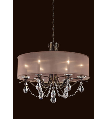 Schonbek Vesca Chandelier: Schonbek Vesca 6 Light Chandelier In Heirloom Gold VA8306N-22S