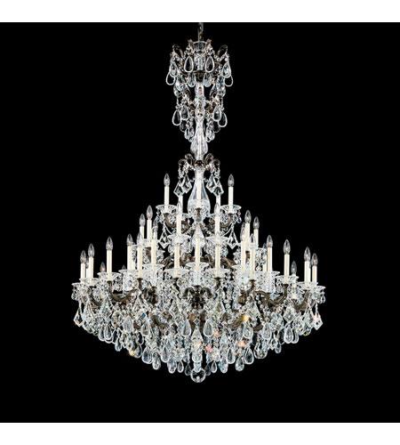 Schonbek 5012 76 la scala 25 light 35 inch heirloom bronze schonbek 5012 76 la scala 25 light 35 inch heirloom bronze chandelier ceiling light in clear heritage aloadofball Images