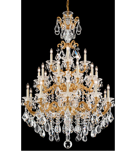 French Gold LaScala Chandeliers