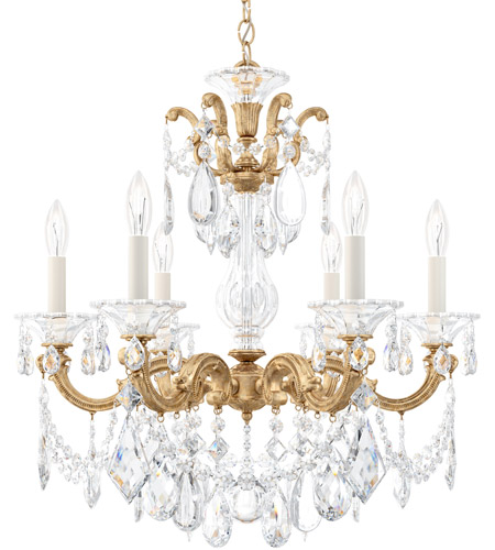 French Gold La Scala Chandeliers