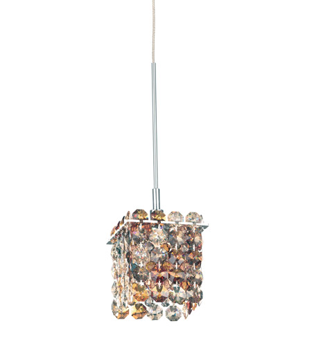 Schonbek MT0303OCE Matrix 1 Light 3 inch Stainless Steel Pendant Ceiling Light in Ocelot, Geometrix,Canopy Sold Separately photo