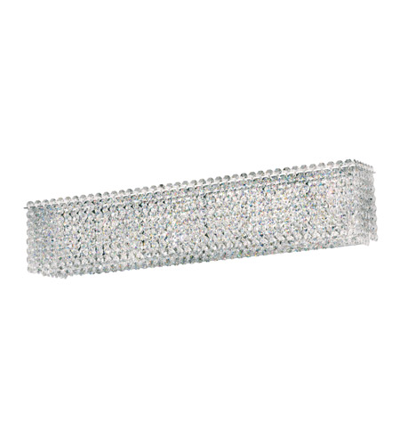 Schonbek MTW2405S Matrix 4 Light 5 inch Stainless Steel Wall Sconce Wall Light in Clear Swarovski, Geometrix photo
