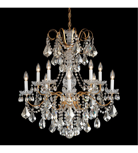 Schonbek 3657 26h New Orleans 10 Light 28 Inch French Gold