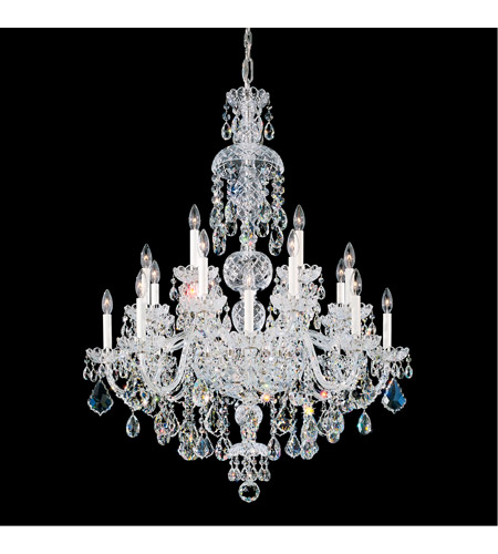 Schonbek 6860-211S Olde World 25 Light 36 inch Aurelia Chandelier Ceiling Light in Olde World Swarovski photo