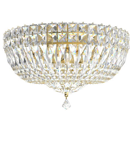 Schonbek 5893-211A Petit Crystal Deluxe 5 Light 14 inch Aurelia Flush Mount Ceiling Light in Clear Spectra photo