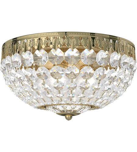 Schonbek 1560-211A Petit Crystal 4 Light 10 inch Aurelia Flush Mount Ceiling Light in Clear Spectra photo