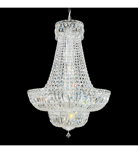 Schonbek 6618-40A Petit Crystal Deluxe 23 Light 24 inch Silver Chandelier Ceiling Light in Clear Spectra photo
