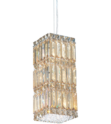 Schonbek 2252GS Quantum 6 Light 6 inch Stainless Steel Pendant Ceiling Light in Golden Shadow photo