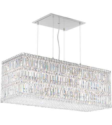 Schonbek 2281A Quantum 33 Light 37 inch Stainless Steel Pendant Ceiling Light in Spectra photo