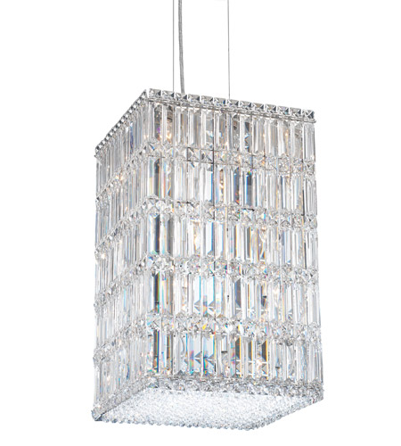 Schonbek 2288A Quantum 21 Light 13 inch Stainless Steel Pendant Ceiling Light in Clear Spectra photo